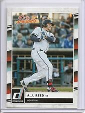 A.J. REED 2016 DONRUSS The Prospects #TP10 ROOKIE CARD Houston ASTROS AJ $$