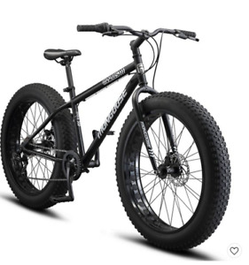Mongoose 26-in. Malus Men's Mountain Bike with Fat Tires-Black