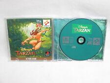 TARZAN Disney's PS1 Playstation Japan Video Game p1