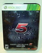 Dead or Alive 5 Collector's Edition Xbox 360 Brand New & Factory Sealed