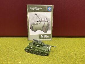 Axis & Allies Miniatures, World War II, USA, M4A3E8 Easy Eight Sherman Tank