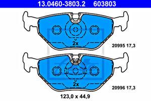 Disc Brake Pad Set ATE Fits BMW Z1 Z3 E30 E32 E34 E36 34211158642