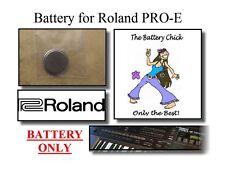 Akku für Roland Pro-E Intelligent Arranger-interner Speicher Akku