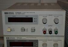 HP Agilent Keysight E3610A 30W DC Power Supply, 8V/3A or 15V/2A