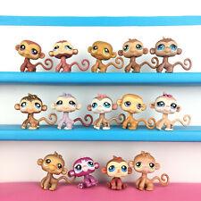 Authentic 14 Littlest Petshop Lot Monkey Ape Hasbro LPS Set / Singe Orang Outang
