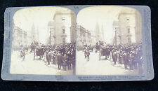 Underwood & Underwood Stereoview Card - Fifth Avenue in New York City