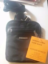 Coveri World CW220 borsello tracolla Colore Nero,ORIGINALE e NUOVO!!!AFFARE!!
