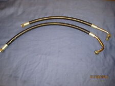 MG PAIR OF MGC  ROADSTER GT RUBBER OIL COOLER HOSES  A4C