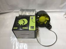 """6"""" Inch 150mm Inline Extractor Intake Grow Room Fan 3M Ducting & 2 Ducting Clips"""