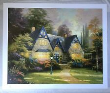 "WINSOR MANOR by THOMAS KINKADE (1996 LITHOGRAPH G/P 938/965) 24""x30"""