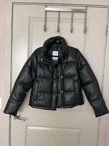 abercrombie fitch faux leather  jacket