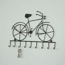Crochets muraux et de porte de maison noirs en métal