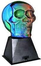 Electrical Plasma Skull Lamp, Unique Sleek Home Office Bedroom Furniture Decor