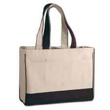 Heavy Duty Shopping Bag with Zippered Pocket