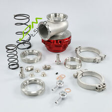 Red 44mm V-Band External WATER COOLED Turbo Wastegate performance MVR44 14PSI