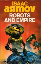 Robots and Empire by Isaac Asimov BOOK Sci Fi Science Fiction HC