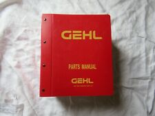 Gehl Service Parts Manual Catalog Hay Baler Mower Lot Over 50 Manuals Hard Cover