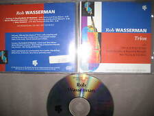 Rare Promo CD Trios - Rob Wasserman feat. Neil Young Brain Wilson Promotion Jazz