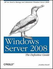 Windows Server 2008 by Jonathan Hassell (2008, Paperback)