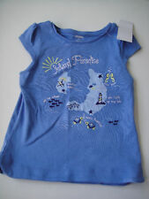 Gymboree NWT GREEK ISLE STYLE Top Shirt Island Paradise Sea Blue Greece 3 3T