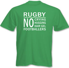 Rugby - No Footballers - Mens Funny T-Shirt England Scotland Wales Ireland Union