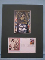 Disney's Snow White & First Day Cover of Stamp