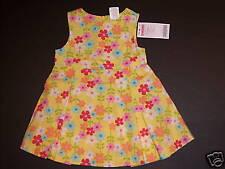 NWT Gymboree Spring Rainbow 3-6 Months Yellow Flower Jumper Dress