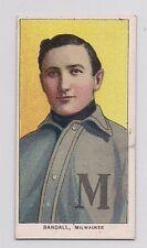 1909-1911 T206 Newt Randall Piedmont Bello Scheda