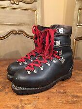 Vintage Salomon Raichie Tricouni Mountaineering Hiking Ski Boots Mens Size 10.5