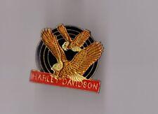Pin's moto / Harley Davidson (aigles - époxy)