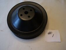63-68 CHEVY TOP PULLEY DEEP GROOVE 3770245CC 409 RAT ROD HOT STREET VINTAGE #1