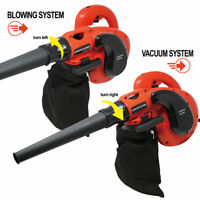 Lightweight Leaf Blower and Vacuum Combo Handheld Electric Corded Blower