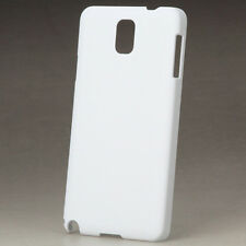 10 x 3D Sublimation Vacuum Oven White Blank Phone Plastic Cases Samsung Note 3
