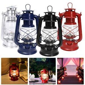 Kerosene Hurricane Oil Lantern Lamp Light Storm Outdoor Camping Fuel Lamp