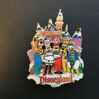 DLR - Large Winter 2002 at Disneyland - Fab 5 3D Disney Pin 17920