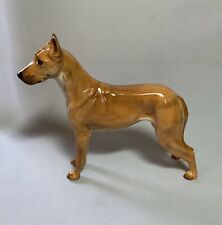 Vtg Rare! Royal Doulton England Bone China Great Dane Dog Figurine Hn 2602