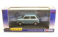 Corgi Va01317 Austin Mini 7 Zircon Blue Lord Austin's Daughter 1 43
