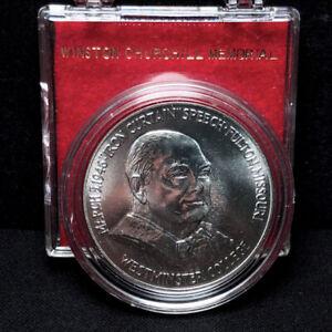 1969-P SWO-305B Winston Churchill Prooflike Silver Medal So-Called Dollar *GEM*
