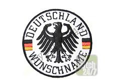 Un écusson équipe Allemagne Aigle wunschname brodés 7,5cm NEUF