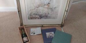 Gordon King Champagne & Silk Limited Edition Print.