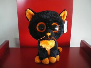 Ty Beanie Boos MOONLIGHT the cat 6 inch NWMT. Retired  & hard to find.