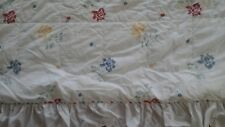 Vintage 1970'S Sears Bedspread/Quilt/Sheet Set/Sham/Curtains/With Tie Backs Set