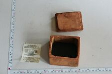Handmade Leather Box, Paradise woods, Please see pictures, great piece.