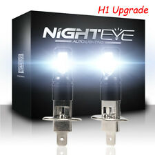 NIGHTEYE H1 160W 1600LM LED Fog Light DRL Daytime Bulbs 6500K White
