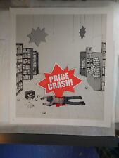 DRAN - Price Crash - 2013 - Screen Print - Signed/Numbered - Pictures On Walls
