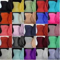 Premium Quality Plain viscose rayon stretch lycra fabric Q300