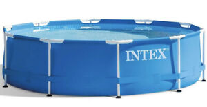 """Intex 10'x30"""" Metal Frame Pool - 28201EH - Easy Install, Pump & Filter Included"""