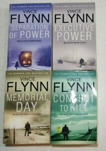 Separation of Power Executive Memorial Day By Vince Flynn Mitch Rapp Series #5-8