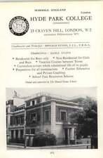 1964 School Hyde Park College, 23 Craven Hill W2 Evans, D