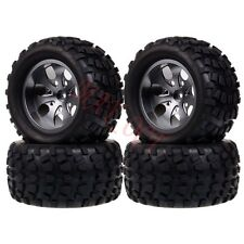 4 x RC 1/10 Monster Truck Bigfoot Metal Wheel Rim & Tyre,Tires 12MM HEX 88108